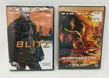 """Lot of 2 - Action Movies: """"Blitz""""+ """"XXX"""" (DVD) *Please Read Description*"""