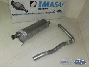 IMASAF Auspuffset Mitteltopf+Endrohr für Mercedes G-Klasse W460/461 280 GE