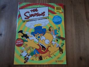 Panini The Simpsons The Springfield Collection II Sticker Album - Complete