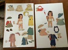 Carolyn Lee paper dolls Whitman 1942. Queen Holden cut, used