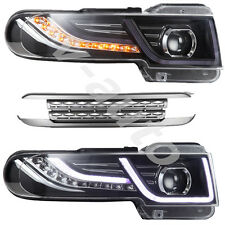 Toyota FJ Cruiser 2011-2016 LED Headlights with Grille Head Lights Assembly