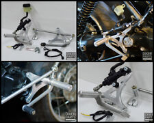 Rear sets footpegs MODEL 2 (short) BMW K100 K75 K1100 cafe racer scrambler CNC