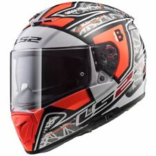 LS2 FF390 BREAKER 'BARBERA CHALLENGE REPLICA' RED SIZE XL, inc SUN VISOR £149.99