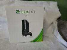 Microsoft Xbox 360 E 4Gb Black Console Complete in Box Cib Working & Tested