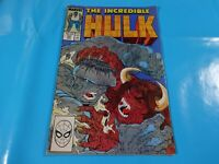 the incredible hulk   # 341 issue marvel Comic book 1st print