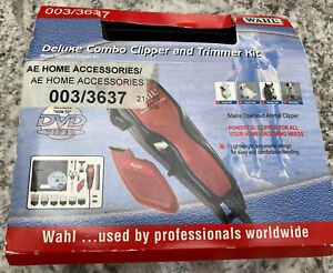 Wahl Dog Deluxe Combo Clipper And Trimmer Set