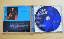 "DAVID CROSBY ""KING BISCUIT"" CD NEAR MINT CONDITION"