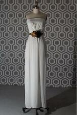 NWT Gucci Belted Strapless Gown Dress Natural Ivory US 6  It 42 $4400 Wedding