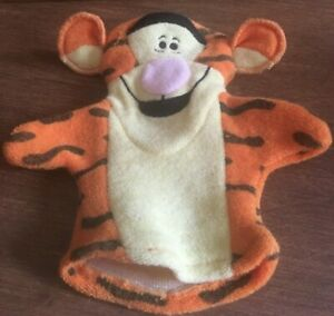 Winnie The Pooh TIGGER Cloth Bath Puppet NEW no tag