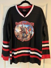 """Iron Maiden """"The Trooper"""" Hockey Jersey - Large"""