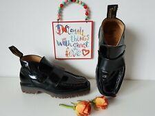 Dr. Martens  Black patent heel UK 4 EU 37 US 6 vintage england rare