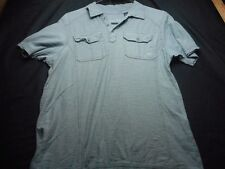 Lions Crest Gray Polo Small Men's Shirt