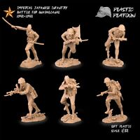 PLASTIC PLATOON Toy soldiers Plastic Platoon Japanese soldiers WW2 New release.