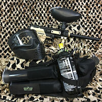 NEW Tippmann Cronus EPIC Paintball Marker Gun Package Kit - Tan/Black