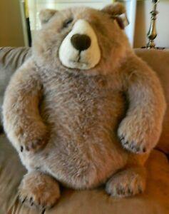 "HUGE Jumbo Jasper Stuffed Teddy Bear Dakin Lou Rankin 30"" x 27"" x 20"" Excellent"