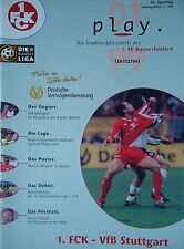 Programm 1998/99 1. FC Kaiserslautern - VfB Stuttgart
