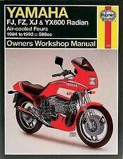 Yamaha Motorcycle Repair FZ Paper Manuals and Literature