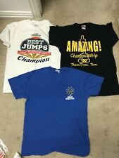 3 x Nca Cheer America Championship Athletics winner's T-shirts Amazing
