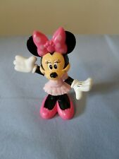 """X2756 2011 Mattel Minnie Mouse Collectible Figurine Cake Topper 3"""""""