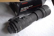 Para Nikon AF Sigma 150-500 mm f/5.0-6.3 APO DG HSM os