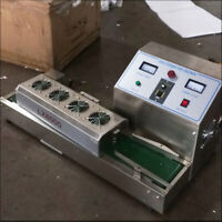 Used LX-6000 220V 20-100mm Bottle Continuous Induction Sealer Machine diameter