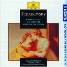1-CD TCHAIKOVSKY - ROMEO & JULIET / 1812 OVERTURE / SERENADE FOR STRINGS - GIUSE