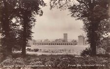 Middlesex - GOLDERS GREEN, Crematorium, From the Circular drive,  Real Photo.