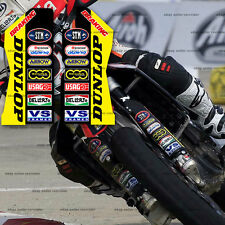 sxv rxv vdb style fork guard decals for aprilia