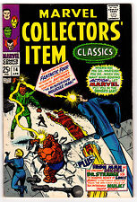 Marvel Collectors Item Classics #14 7.0 Tan To Cream Pages Silver Age