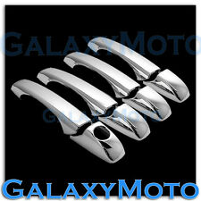 Triple Chrome 4 Door Handle w/o Passegner Keyhol Cover for 07-15 JEEP PATRIOT