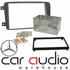 Mercedes Benz Viano 2004 On Car Stereo Double Din Fascia Plates & Cage CT23MB02A