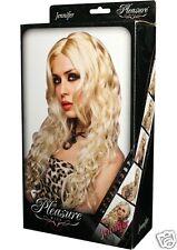 Sexy Jennifer Wig Platinum Blonde - Human Like Hair - Pleasure Wigs