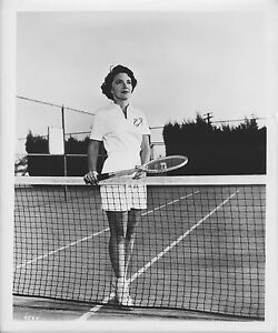 NANCY DAVIS REAGAN photo TENNIS original MGM posed 1950's movie publicity still