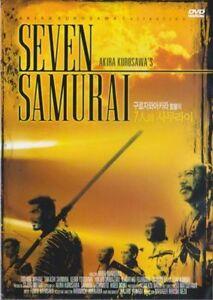The Seven Samurai (1954) Akira Kurosawa [DVD] FAST SHIPPING