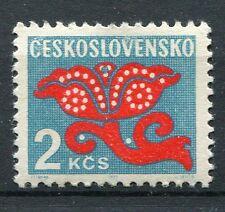 TCHECOSLOVAQUIE - 1972, timbre TAXE 110, FLEURS, neuf**