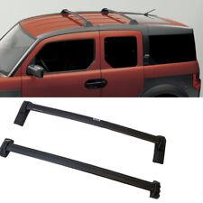 1 Pair Black Roof Rack  For 03-11 Honda Element Cross Bars Top Rail Carries