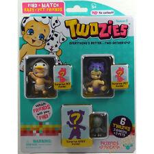 Twozies amici Pack (3 Bambini & 3 animali domestici) Inc. pozzanghere e Jelly UK venditore 5yrs+