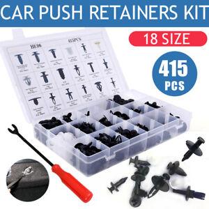 Pro. Auto Car Body Plastic Push Pin Rivet Fasteners Trim Panel Moulding Clip-NEW