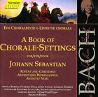 NEW Book of Chorale Settings Bach - Advent and Christmas (Audio CD)