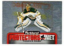 2016-17 UD Parkhurst PROTECTORS OF THE NET TUUKKA RASK Canada Retail Only Bruins
