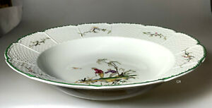"""RAYNAUD LIMOGES SI KIANG  PASTA SERVING BOWL 11 1/2"""" # 2  NEVER USED - PERFECT"""