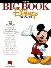 Big Book of Disney Songs Flute Sheet Music Book 72 Tunes SAME DAY DISPATCH