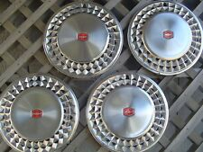 CHEVY CHEVROLET 1981 81 MALIBU HUBCAPS WHEEL COVERS CENTER CAPS  14 IN. VINTAGE