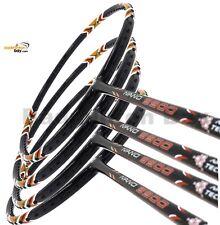 4x Apacs Nano 9900 4U Badminton Racket Racquet Free Stringing + String + PU Grip