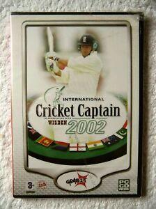 31356 - International Cricket Captain 2002 [NEW / SEALED] - PC (2006) Windows XP