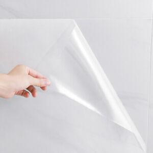 Selbstklebende Klebefolie transparent Küchen Möbelfolie Spritzschutz Anti-Öl 5M