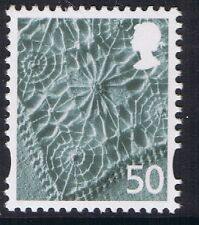 GB QEII MNH Northern Ireland SG NI125 50p Linen Pattern. Regional Definitive MNH