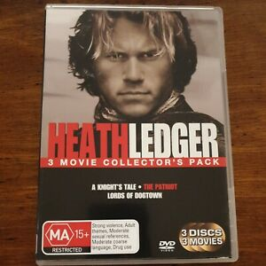 Heath Ledger Collection - 3 DVD - R4 – LIKE NEW! FREE POST