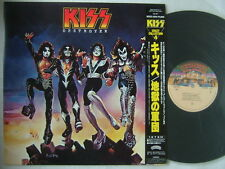 KISS DESTROYER / CRAZY COLLECTION ROOC ISSUE WITH OBI