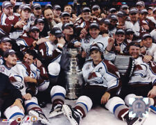 Colorado Avalanche 2001 Stanley Cup Champions 8x10 Photo Ray Bourque
